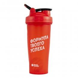Шейкер Fitness Formula Full Color 828 мл (красный)