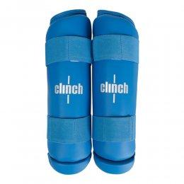Защита голени Clinch Shin Guard Kick PU (синий)