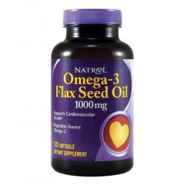 Omega-3 Flaxseed Oil 1000 mg 120 капс