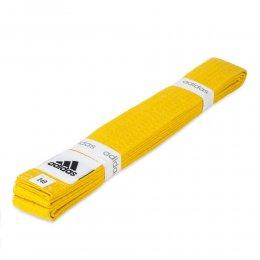 Пояс для кимоно Adidas Club (жёлтый)