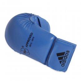 Накладки для каратэ Adidas WKF (синий)