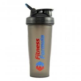 Шейкер Fitness Formula Full Color 600 мл (чёрный)