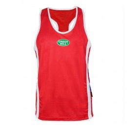 Майка боксёрская Green Hill Olimpic (красный)