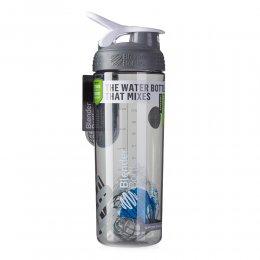 Шейкер Blender Bottle SportMixer Sleek 828 мл (серый)