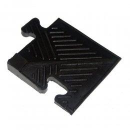 Уголок резиновый для коврика 12 мм