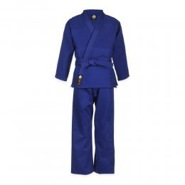 Кимоно для дзюдо Firuz Мастер (синий)