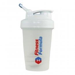 Шейкер Fitness Formula Full Color 591 мл (белый)