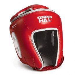 Шлем для кикбоксинга детский Green Hill Kids, PU (красный)