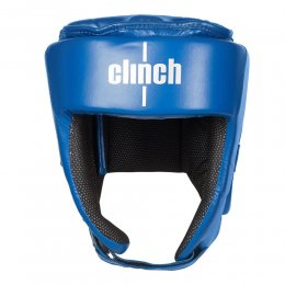 Шлем для кикбоксинга Clinch Helmet Kick PU (синий)