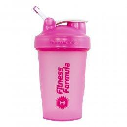 Шейкер Fitness Formula Full Color 591 мл (розовый)