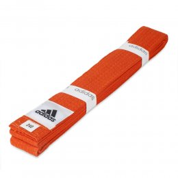 Пояс для кимоно Adidas Club (оранжевый)