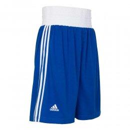 Шорты боксёрские Adidas Boxing Short Punch Line (синий)