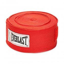 Боксерские бинты Everlast эластик (красный)
