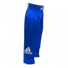 Брюки для кикбоксинга Adidas Pants Full Contact (синий)