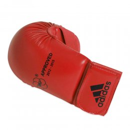 Накладки для каратэ Adidas WKF (красный)