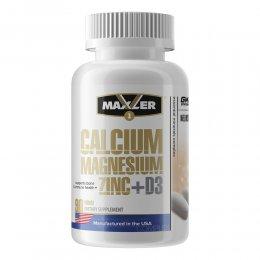 Calcium Magnesium Zinc + D3 90 таб