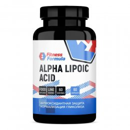Alpha Lipoic Acid 250 mg 60 капс