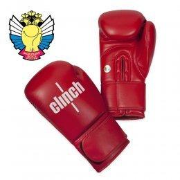 Перчатки боксёрские Clinch Olimp PU (красный)