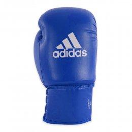 Перчатки боксёрские Adidas Rookie-2 PU (синий)