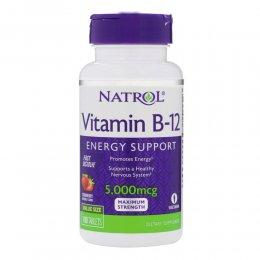 Vitamin B-12 5000 mcg Fast Dissolve 100 таб