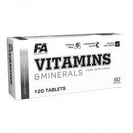 Vitamins and Minerals 120 таб