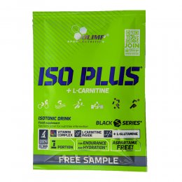Пробник Iso Plus + L-Carnitine 17,5 гр
