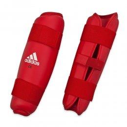 Защита голени Adidas (красный)