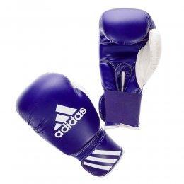Перчатки боксёрские Adidas Response PU (синий/белый)