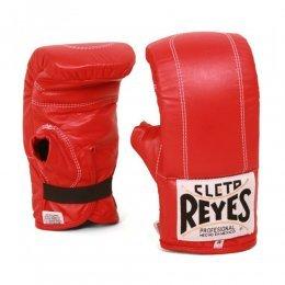 Перчатки снарядные Cleto Reyes кожа (красный)