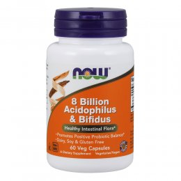 8 Billion Acidophilus & Bifidus 60 капс