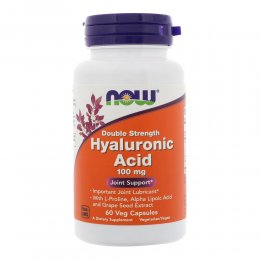 Hyaluronic Acid 100 mg 60 капс