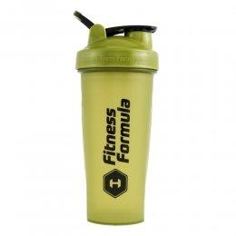 Шейкер Fitness Formula Full Color 828 мл (оливковый)