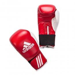 Перчатки боксёрские Adidas Response PU (красный/белый)