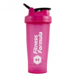 Шейкер Fitness Formula Full Color 828 мл (розовый)