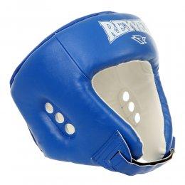 Шлем боксерский Reyvel, PU (синий)