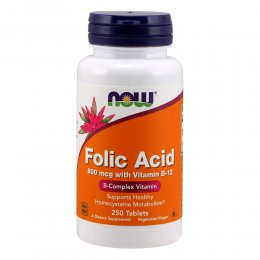 Folic Acid 800 mcg 250 таб