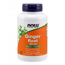 Ginger Root 550 mg 100 капс