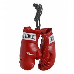Брелок боксёрские перчатки Everlast Mini Boxing Glove In Pairs (красный)