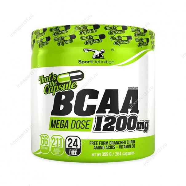 BCAA 1200mg That's The Capsule 264 капс