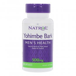 Yohimbe Bark 500 mg 90 капс