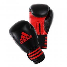 Перчатки боксёрские Adidas Power Protection PU (чёрный/красный)
