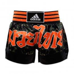 Шорты для тайского бокса Adidas Thai Boxing Short Sublimated (камуфляж)