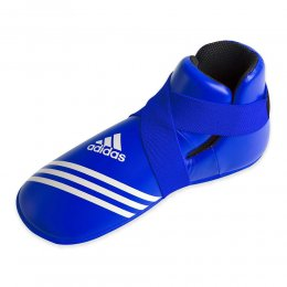 Футы для кикбоксинга Adidas Super Safety Kicks (синий)