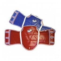 Защита корпуса для тхэквондо ProfSport (красный/синий)