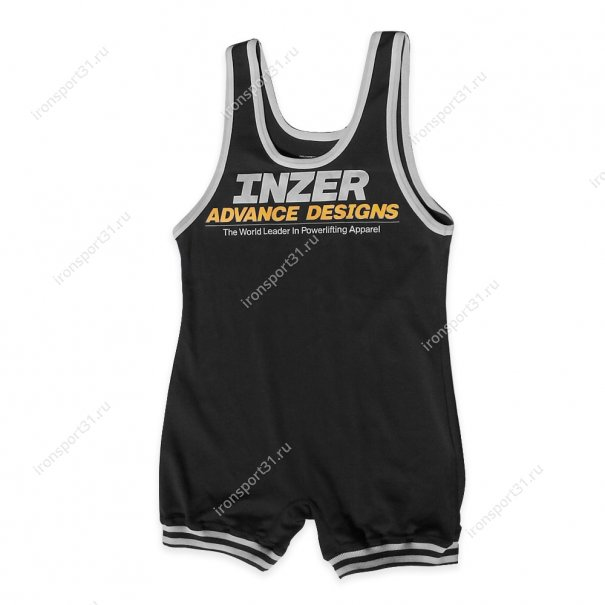 Борцовское трико Inzer Lifting Singlet (чёрный)