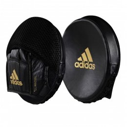 Лапы боксёрские Adidas Disk Punch Mitts кожа