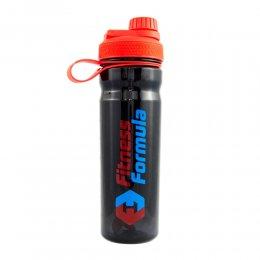 Шейкер - бутылка Fitness Formula 800 мл (чёрный/красный)