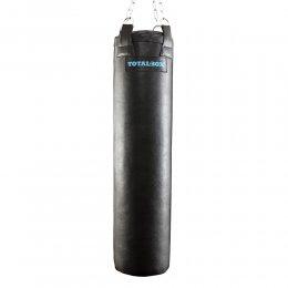 Боксёрский мешок TotalBox кожа (чёрный)