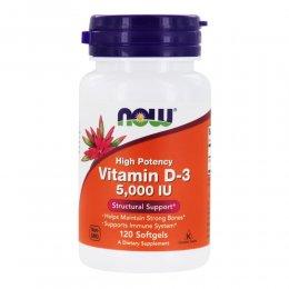 Vitamin  D-3 5,000 Ме 120 капс