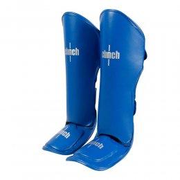 Защита голени и стопы Clinch Shin Instep Guard Kick, PU (синий)